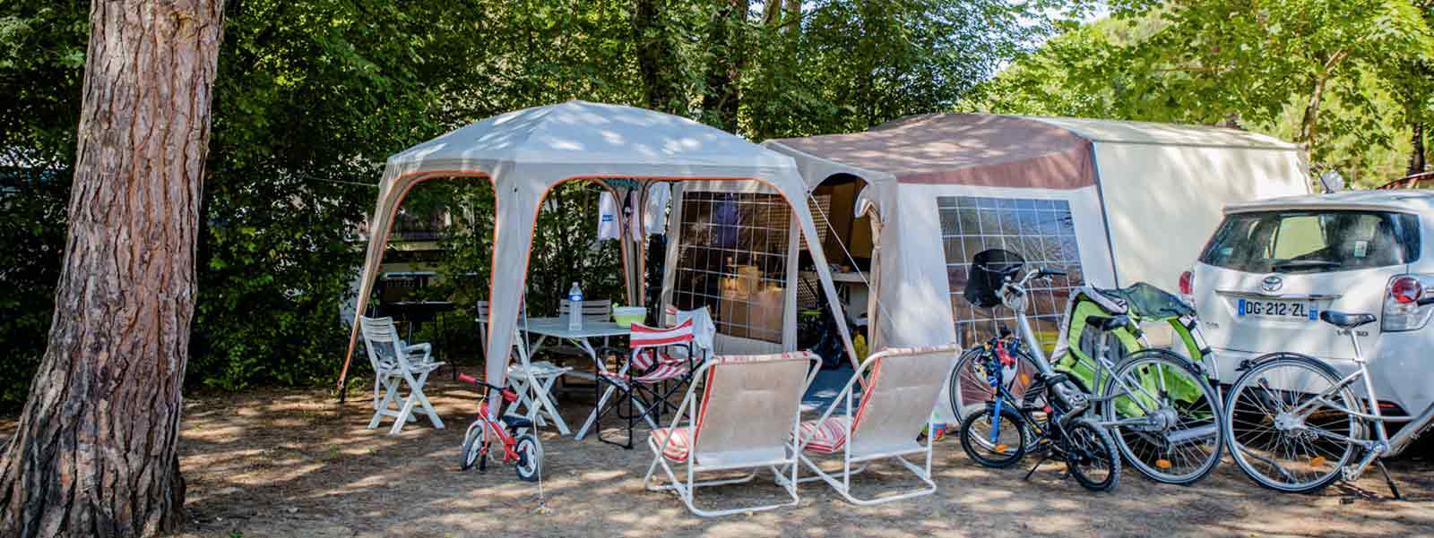 emplacement camping castellane